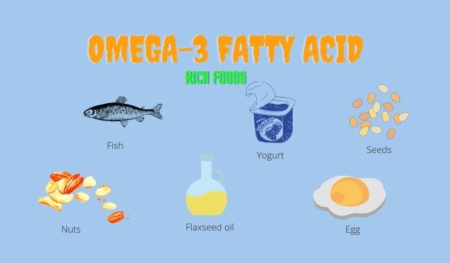 omega  fatty acid rich food